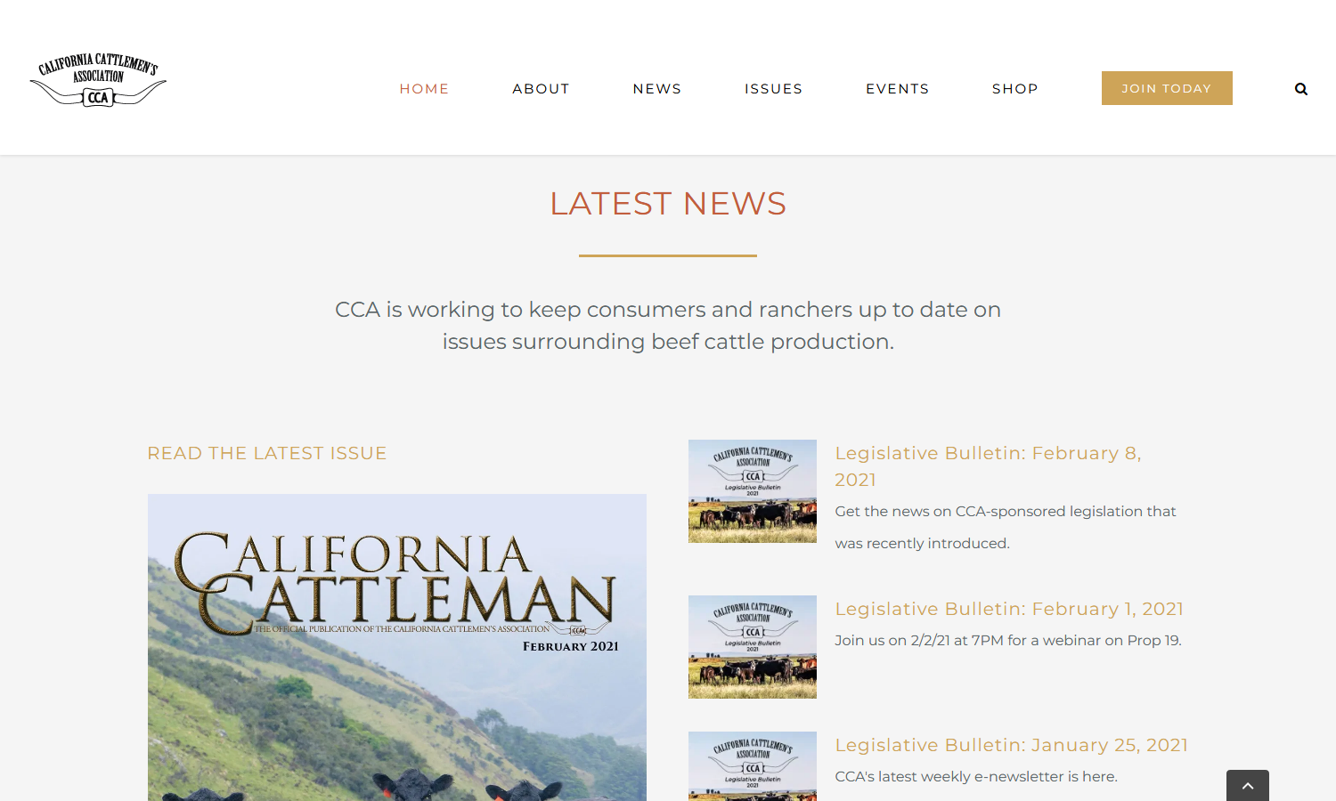 California Cattlemen's Association portfolio image 3